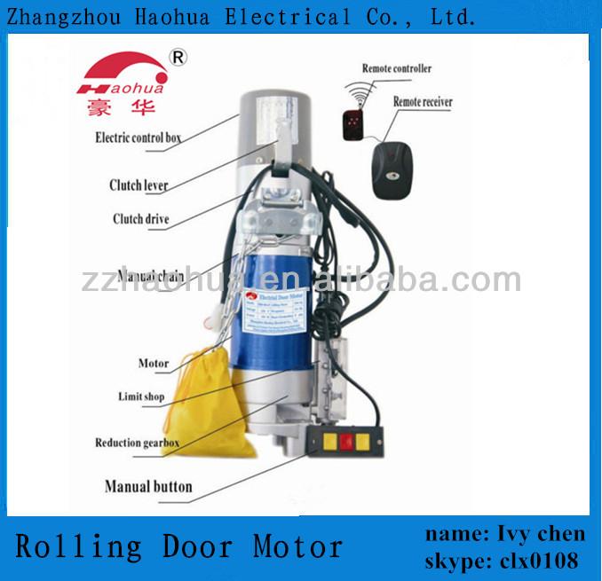 Dc 600kg Roll Up Garage Door Motor Roll Up Door Motors