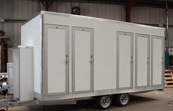 Portable Kitchen Trailer : Fast food mobile kitchen trailer portable toilet movable