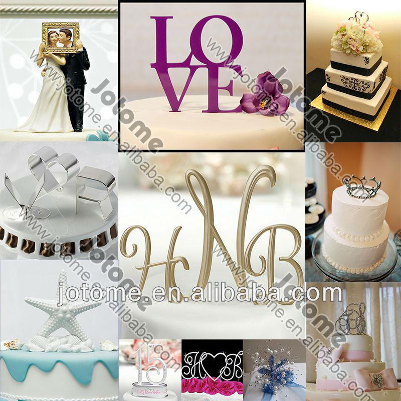21 Rhinestone Cake Toppers Para La Celebración \\ Wedding ...