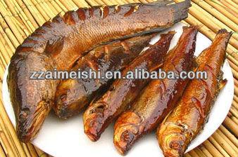 Smoking Meat Fish