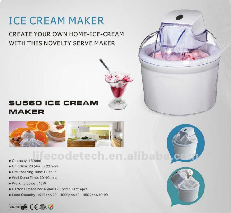 ice cream making machine for home