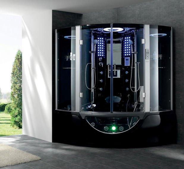 Economic Shower Shower Bath Shower Cabins Price Bath Tub Steam Room  Inflatable Spa Enclosed Glass Steam