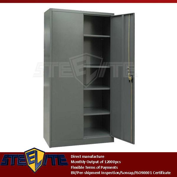 Three Point Locking System 2 Door 5-tier Used Metal Vintage ...
