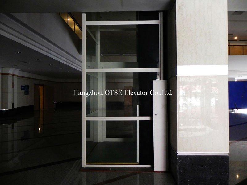 Lift In Huis : Verticale lift platform voor gehandicapten schroef lift huis lift