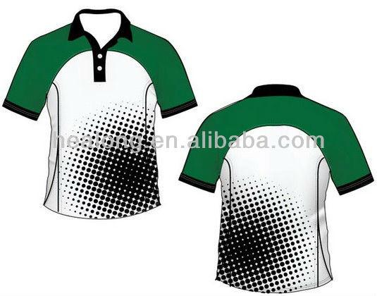 2013 Wholesale Sublimaton Polo Cricket Jersey