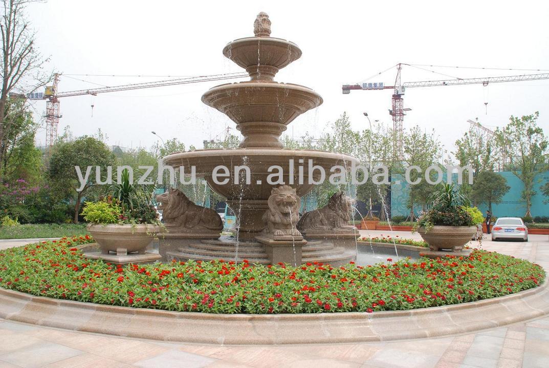 3 Tiered Water Fountain Multi Layer Garden Fountain Outdoor Fountain Water  Fountain