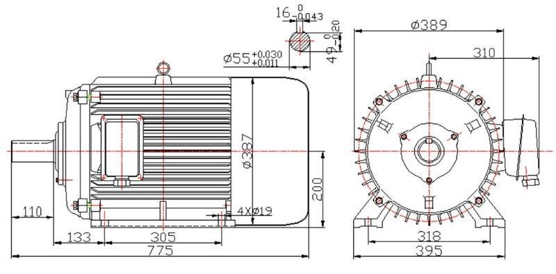 permanent magnet diesel generator 35kw