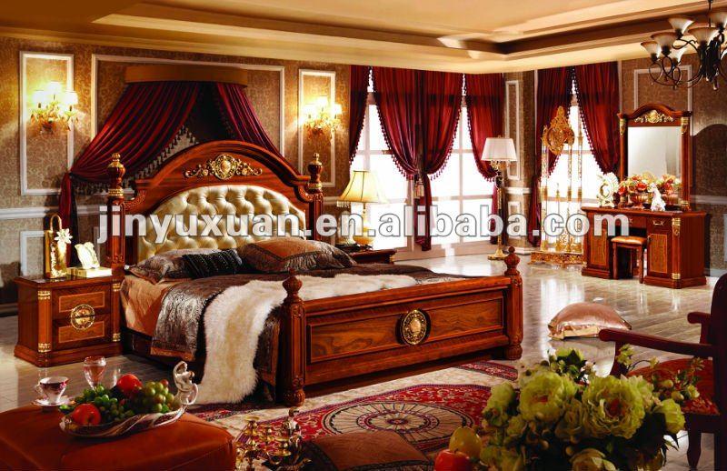 European classical bedroom furniture set cdb 516 buy for Sofas clasicos elegantes