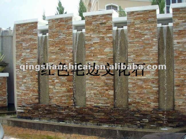Piedra para muro exterior affordable el muro de piedra - Muros decorativos para exteriores ...