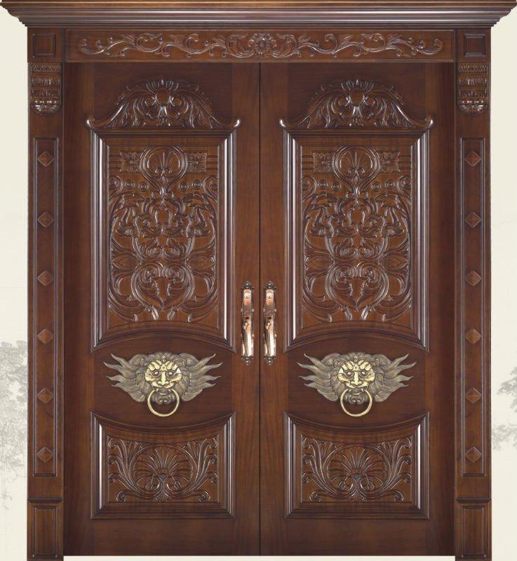Carved solid wood entrance doors design dj y buy