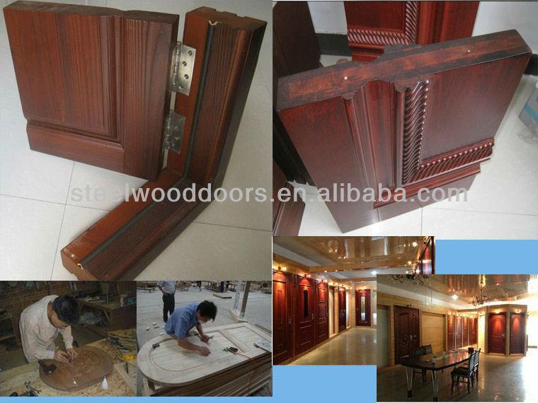 House Interior Half Glass Wooden Door Manufacture Buy