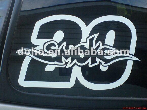 Motor sticker design
