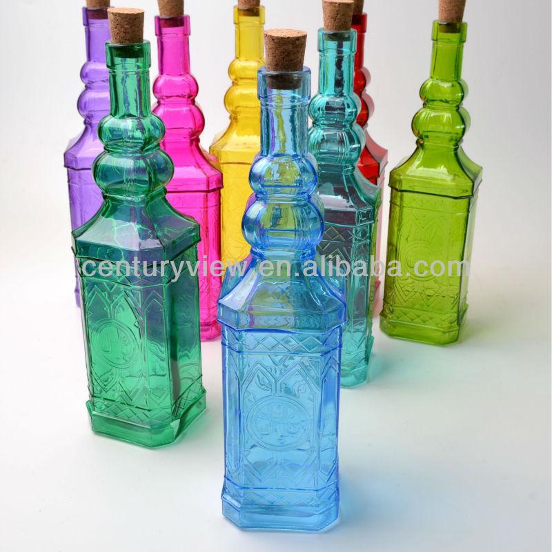 Decorative Glass Bottles Wholesale