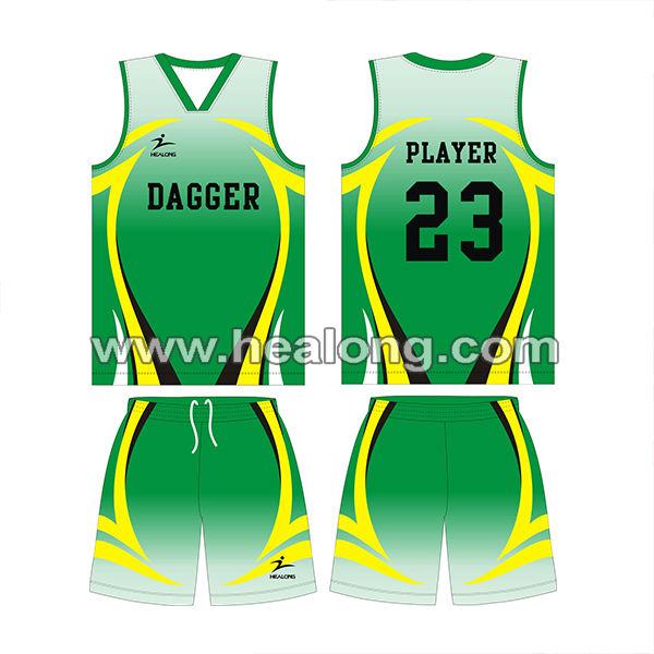 Full Sublimation Basketball Uniform Design - Buy ...