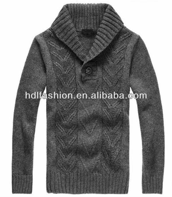 Handmade Knitted Wool Sweater Designs For Men - Buy Wool ...