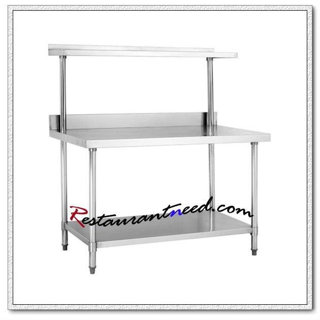 s012 stainless steel kitchen table - Kitchen Steel Table
