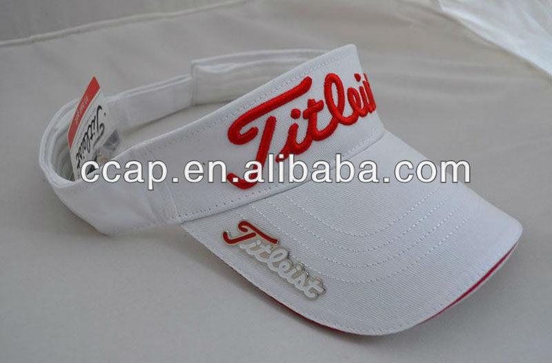 Custom 3d embroidery 100 cotton sun visor cap buy 3d embroidery custom 3d embroidery 100 cotton sun visor cap ccuart Images