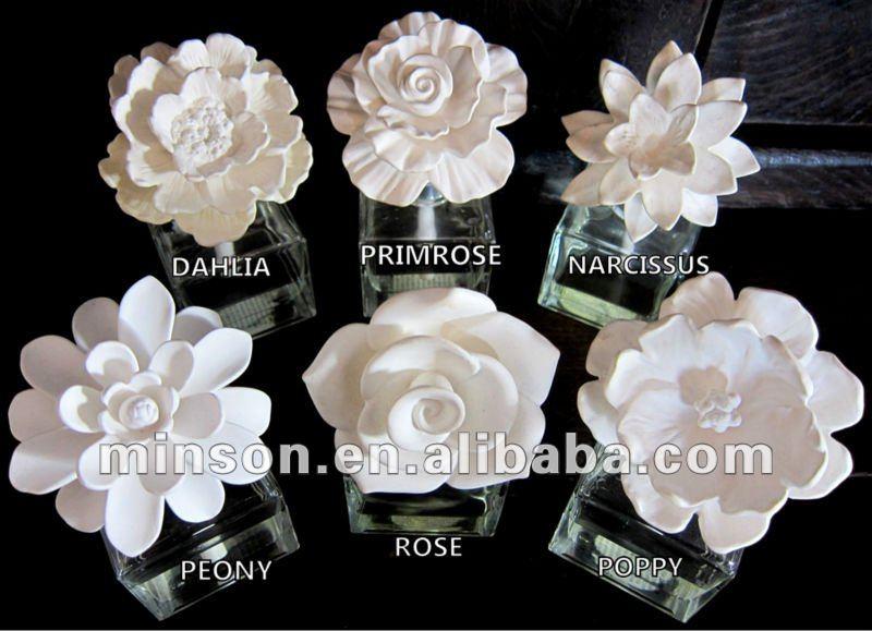 Hot Sale Ceramic Flower Diffuser Buy Ceramic Flower