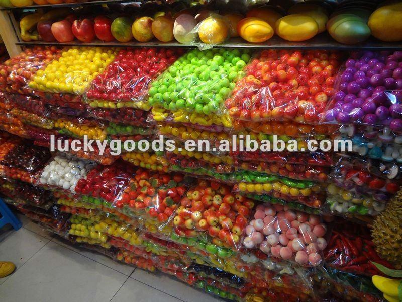 Artificial Decorative Wall Hanging Fruit For Fruit Shop Or Centerpiece Decoration