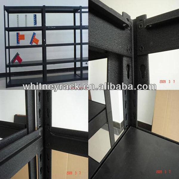 heavy duty rivet shelving 4shelf shelving unit diy 5 layers boltless storage shelving rack