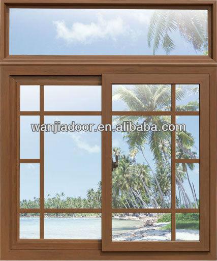 New design aluminium frame sliding glass window view for New window frame designs