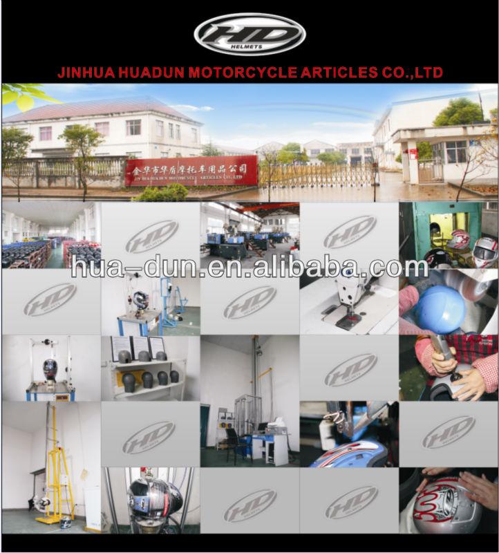 Jinhua Hd Flip Up Helmet Modular Helmet Motor Casco Hd-701