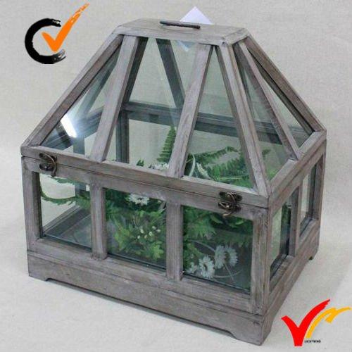 Farm Country Style Vintage En Bois D\'intérieur Mini Serre De Jardin ...