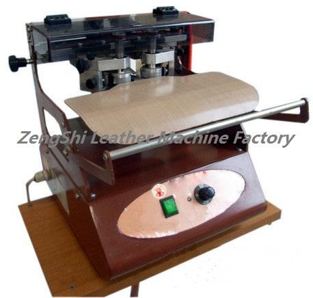 leather edge painting machine