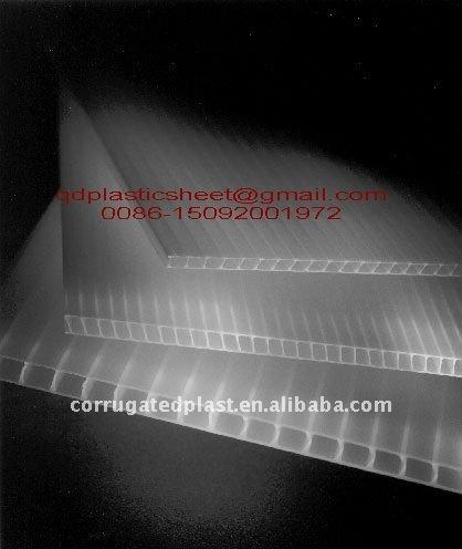 Plastic Polypropylene Pp Twin Wall Corrugated Sheet Buy