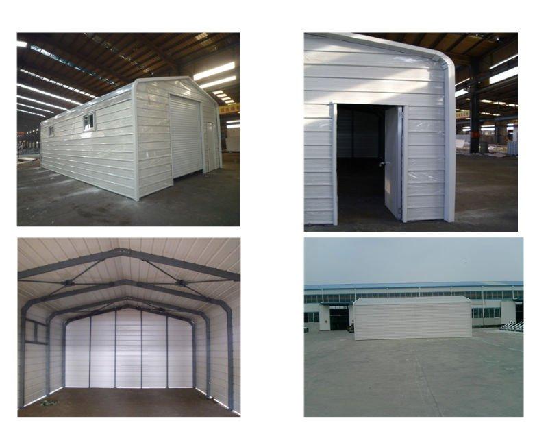 Xgz Light Steel Structural Prefabricated Garagestainless Steel