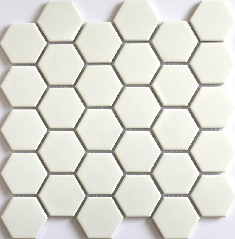 beautiful nouvelle cramique carreaux porcelaine hexagonale en nid duabeille de type mosaque axc. Black Bedroom Furniture Sets. Home Design Ideas