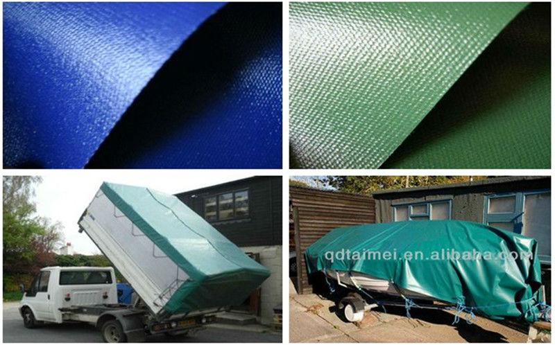 250 Gsm Green Waterproof Heavy Duty Polyethylene Fabrics