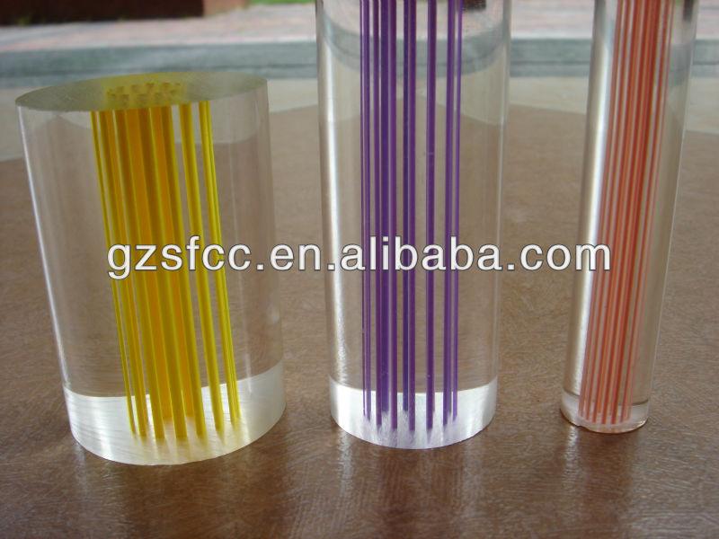 plastic curtain rods, hard acrylic rod,small diameter clear ...