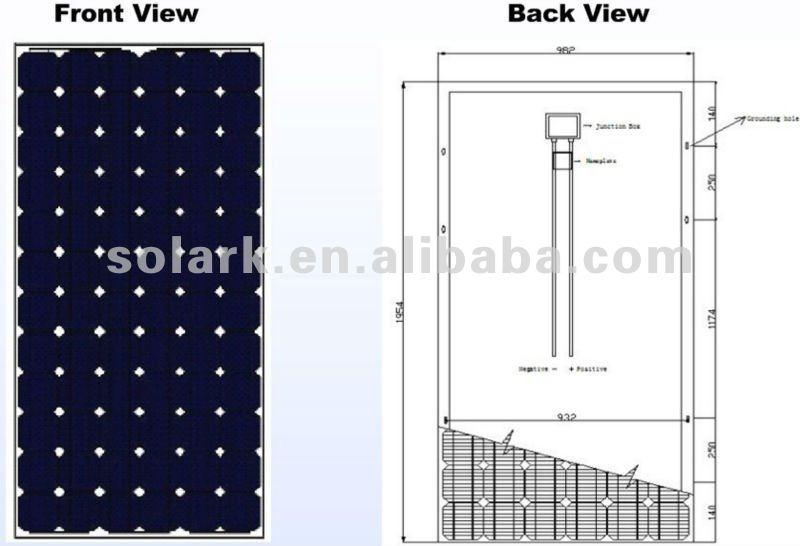 300 watt solar panel monocrystalline solar panel 300w, View solar panel  300w, SOLARK Product Details from Nanjing Solark Pv Technology Co , Ltd  on