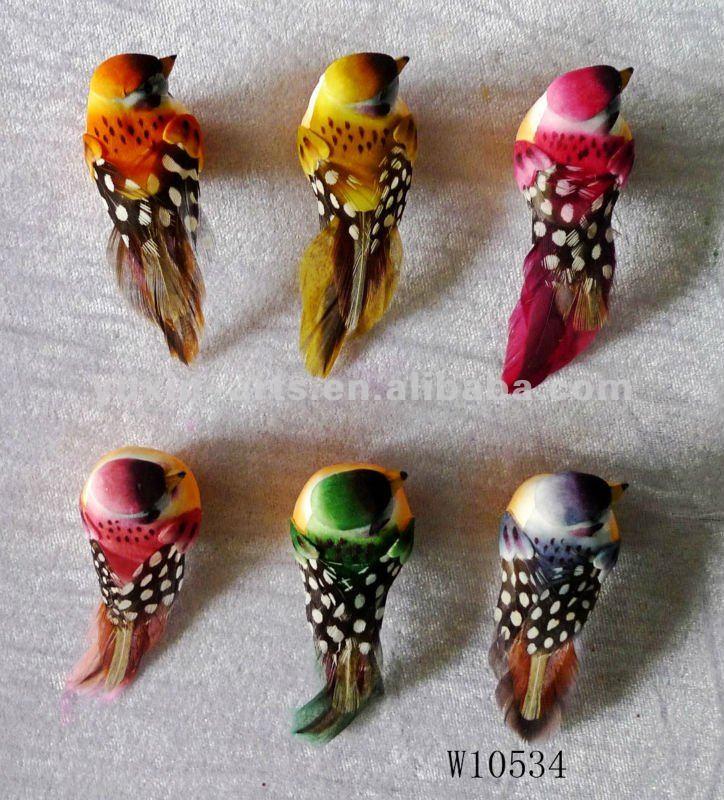 Plumes d 39 oiseaux artificiels buy plume artificielle et for Oiseaux artificiels de decoration