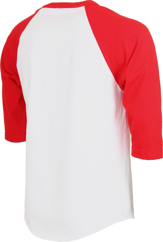 Desain t shirt raglan - Wholesale Mens Custom Design Raglan 3 4 Sleeve T Shirt High Quality 100