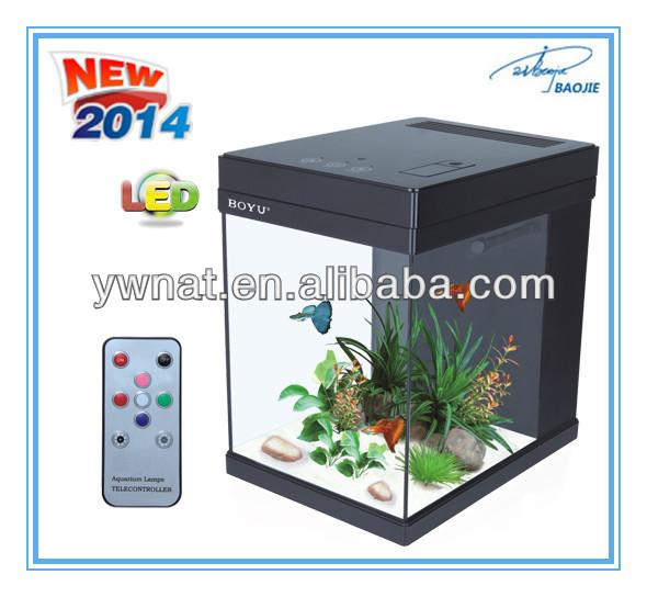 2014 Factional Design Joyful Home Led Aquarium Office Table Mini ...