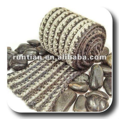 Reversible De Los Hombres Acanalado Crochet Bufanda De Moda - Buy ...