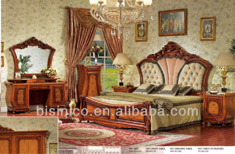 Estilo Clásico Italiano Formal Conjunto De Muebles De Dormitorio ...