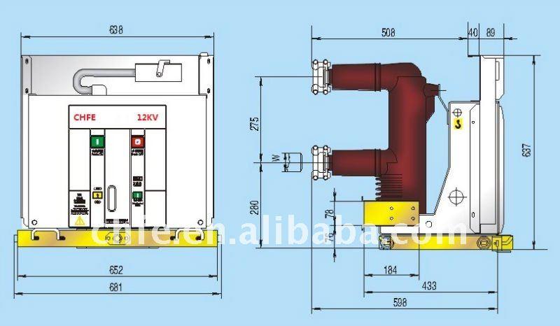 11kv Vacuum Circuit Breaker/ Vcb - Buy Circuit Breaker ...