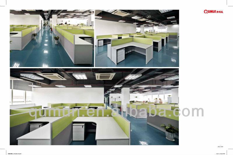 modern modular call center office screen and partition