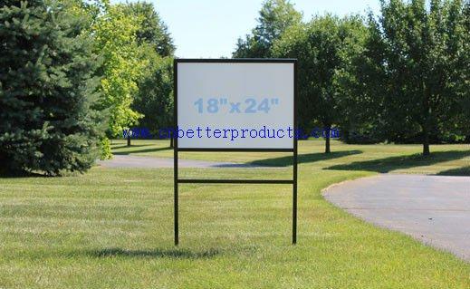18 x 24 metal sign frame