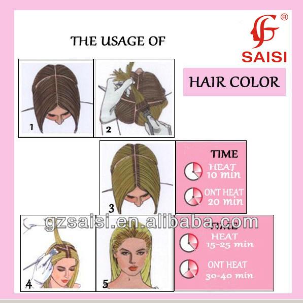 Wholesale SAISI safe formula new plant brazilian hair color dye ...