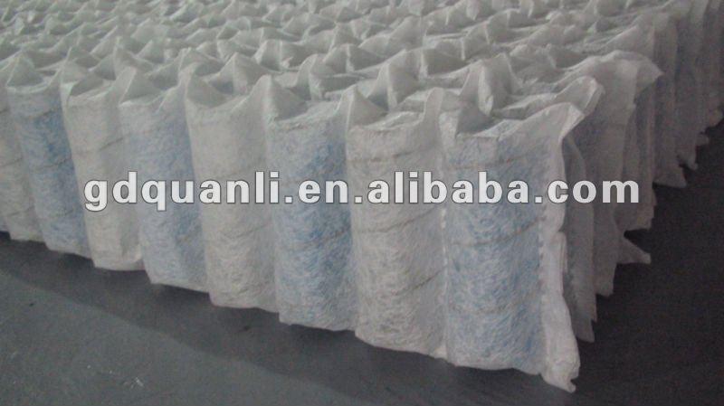 Letto Molle Insacchettate : Bambù doppia cuscino materasso a molle insacchettate top letto