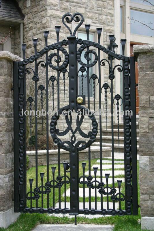 2013 Newest Ornamental Small Iron Gate Buy Small Iron
