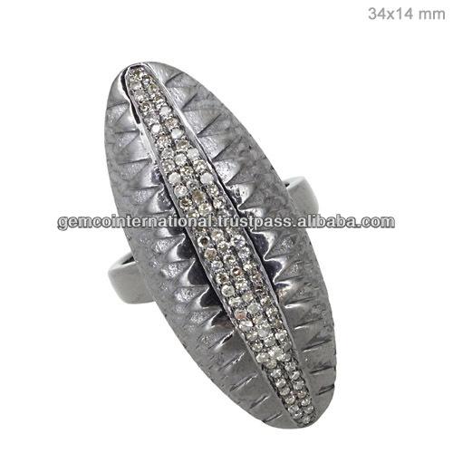 14k Yellow Gold Dome Ring Jewelry,Natural Diamond Aquamarine ...