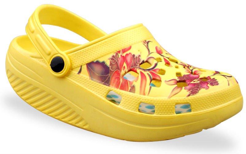 Salud de impresi n eva jard n zapatos zuecos buy product for Sanitarios baratos