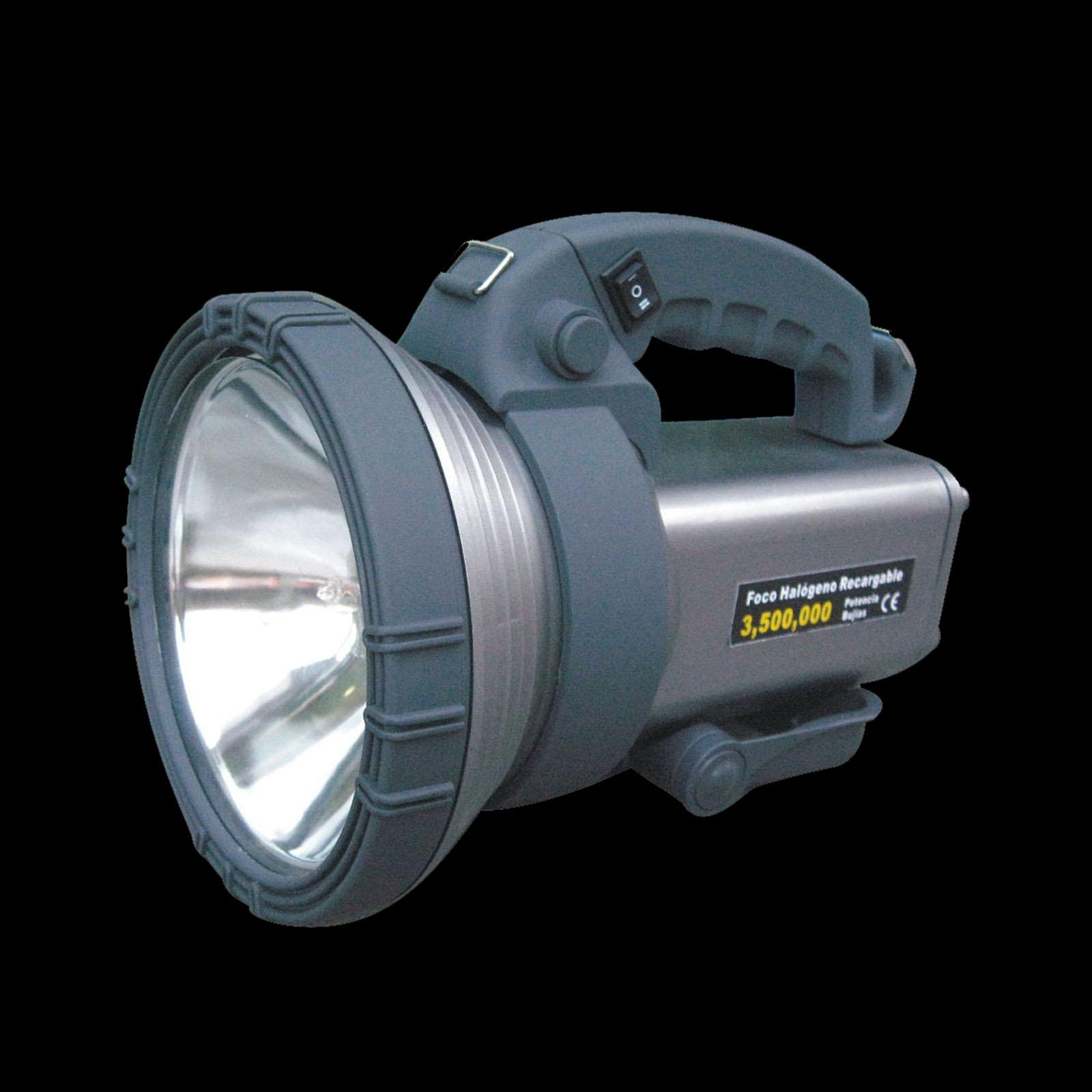 Hand Led Spot Battery Light Portable Rechargeable Spotlight High