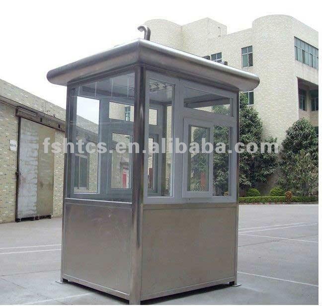Prefabricted Security Guard Cabin Prefab Security Cabin
