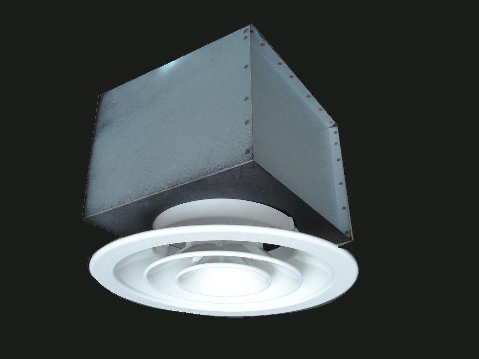 Circular Ceiling Diffuser Fys-a With Plenum (hvac) - Buy Air Diffuser,Air Grille,Air Outlet ...